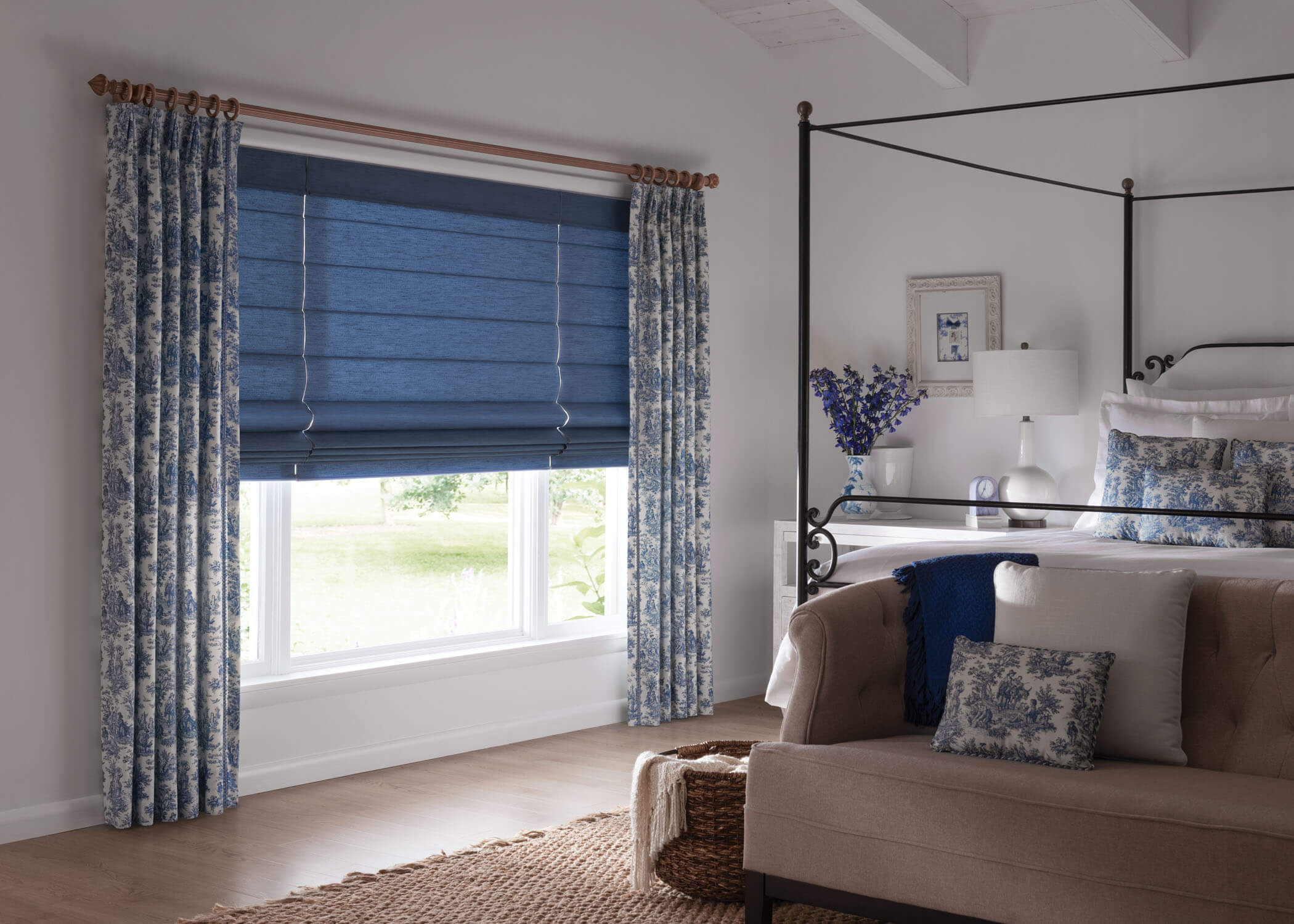 Graber_FabricShades_Bedroom