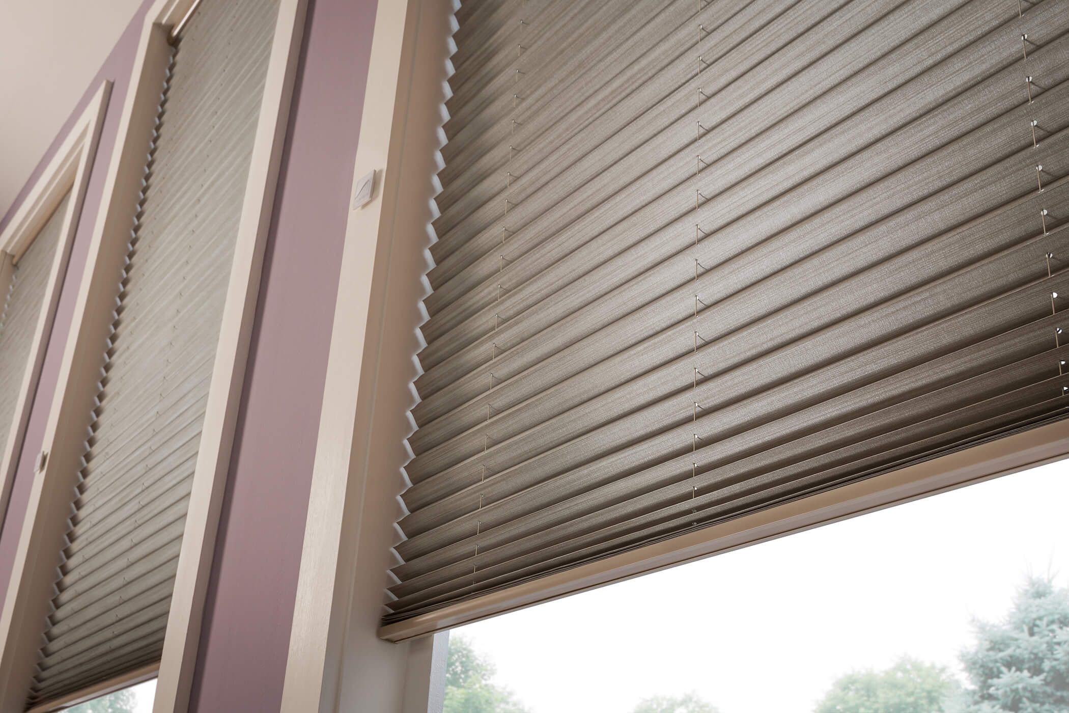 Pleated Shades Window Treatments You Can Afford