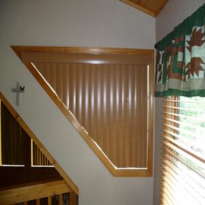 blinds for triangular windows bespoke triangular blinds cabin for cabins blinds shades shutters