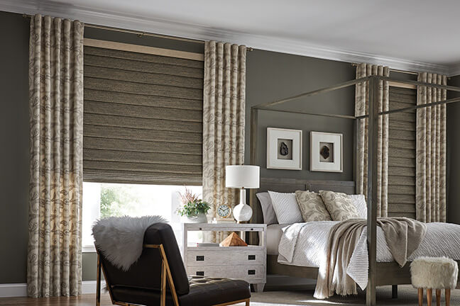 Natural Woven Shades Affordable Window Treatments