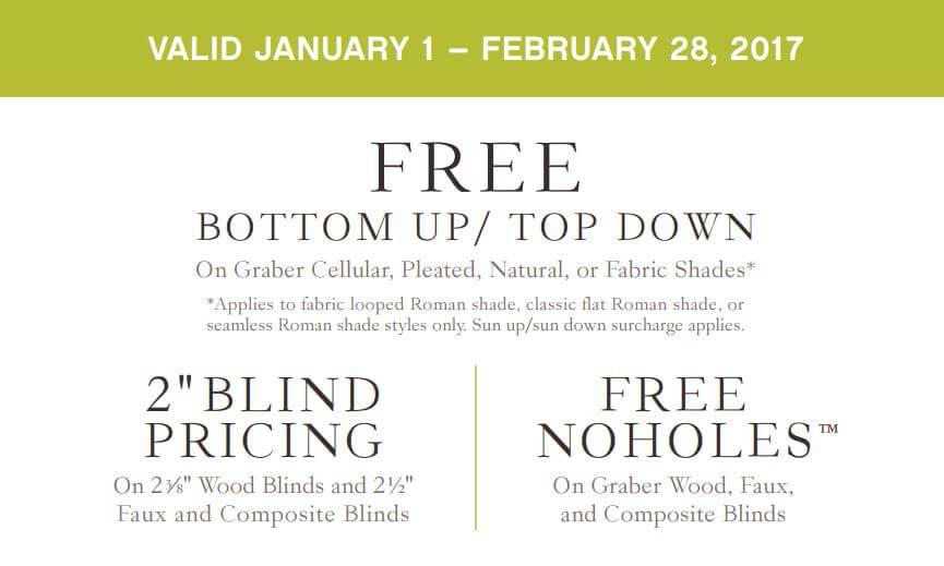 Graber Blinds: Free Cordless Lift